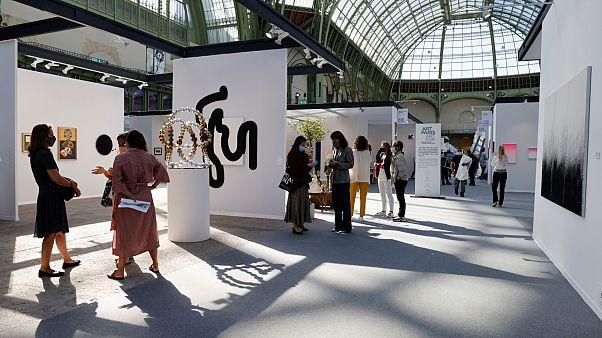 La 22e édition d'Art Paris, grand rendez-vous pour l'art moderne et contemporain est organisée du 10 au 13 septembre au Grand Palais.