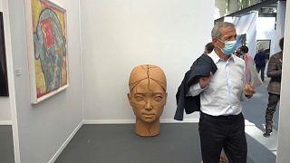 نمایشگاه هنر معاصر «آرت پاریس آرت فِر» بالاخره باز شد