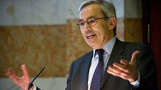 The 2010 Nobel economics laureate, British Cypriot Christopher Pissarides