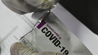 اختبار فحص فيروس كورونا