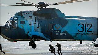 مناورة إيرانية في بحر عمان قرب مضيق هرمز الاستراتيجي