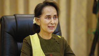 لزعيمة البورمية أونغ سان سو تشي