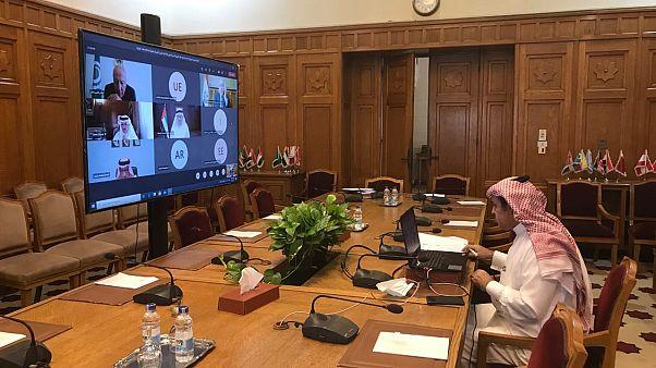 جلسه مجازی وزرای امور خارجه اتحادیه عرب/ ۹ سپتامبر ۲۰۲۰