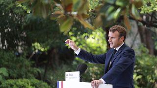 Emmanuel Macron lud zum Gipfeltreffen auf Korsika