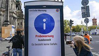 رزمایش شهری در آلمان