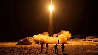 عکس آرشیوی از شلیک موشک توسط حوثیها (فرانس پرس)