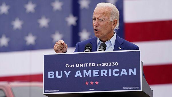 Demokrat Parti'nin başkan adayı olan Joe Biden