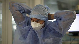 In einem Krankenhaus in Marseille