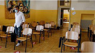 صورة من مدرسة في إيطاليا