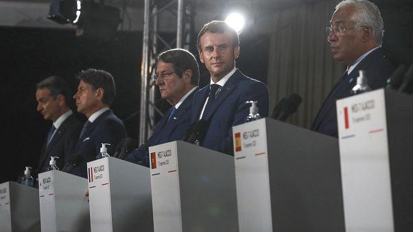 Европейская средиземноморская G7 выступила единым фронтом против политики Турции в отношении Греции