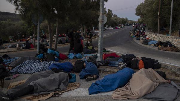 Μόρια: Σε απόγνωση πρόσφυγες και μετανάστες