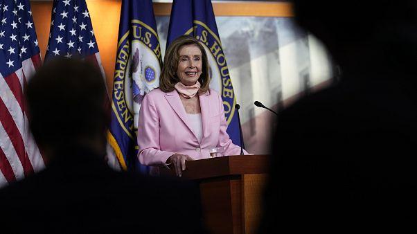 Nancy Pelosi, Speaker della Camera americana.