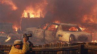 """Waldbrand-Vertriebene an der US-Westküste: """"Schrecklich, das kennt man vom Krieg"""""""
