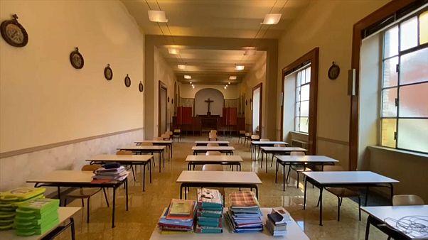 ¿Funcionarán las aulas anticovid en Italia?