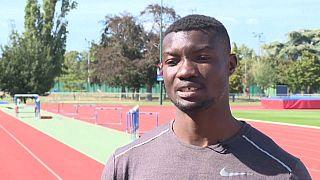 Il concilie sport de haut niveau et études supérieures, Hugues-Fabrice Zango, le porteur d'exploits