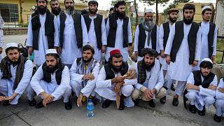Afganistan'da ağustos ayında serbest bırakılan Taliban üyeleri