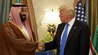 Suudi Arabistan Veliaht Prensi Muhammed bin Selman // ABD Başkanı Donald Trump