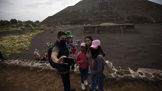 La 'Ciudad de los Dioses' vuelve a recibir turistas