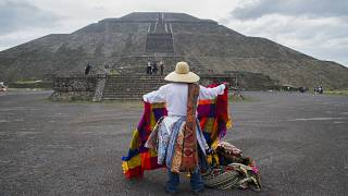 Mexico's archaeological site of Teotihuacan reopens amid the COVID-19 pandemic