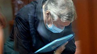 Михаил Ефремов в зале суда