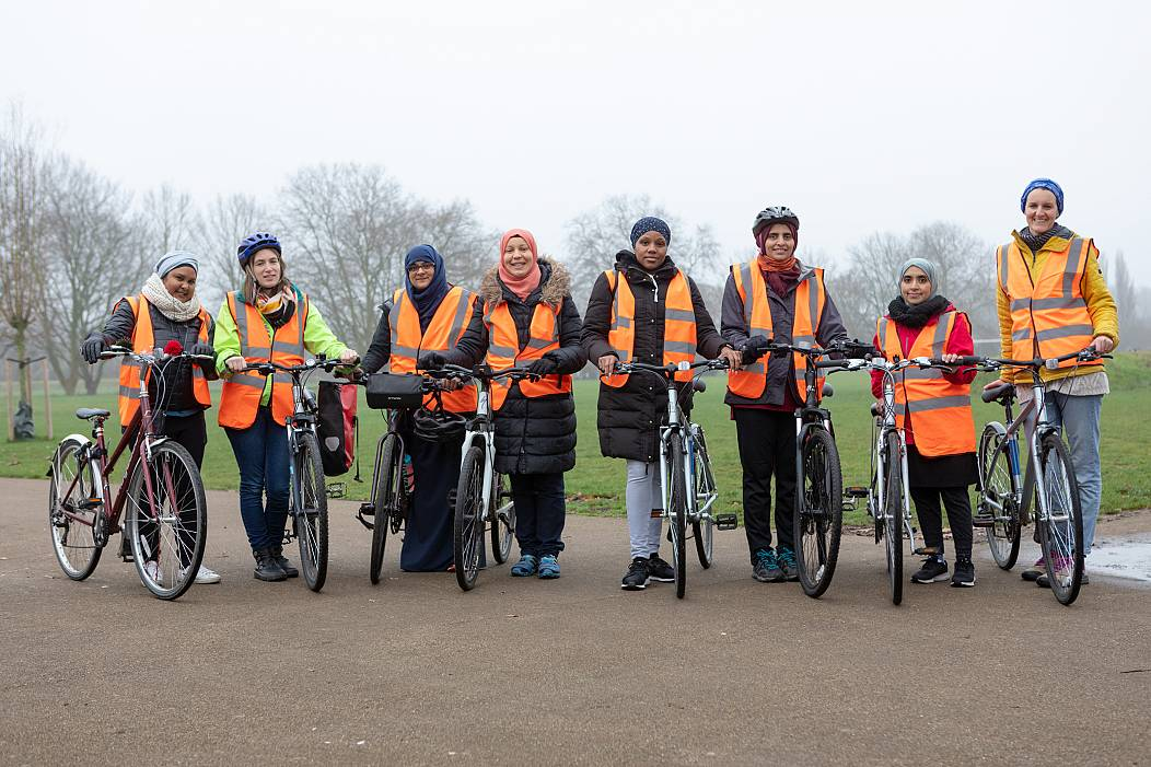 Cycle Sisters - Jenna Selby, Waltham Forest Council