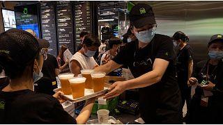 صورة لأحد المطاعم في الصين