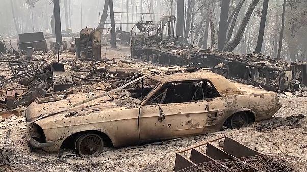 Des incendies ravageurs et meurtriers en Californie, dans l'Oregon et à Washington