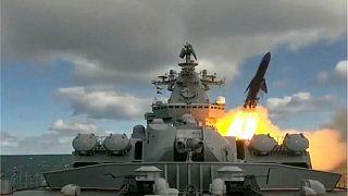 تمرینهای نظامی روسیه در دریای برینگ