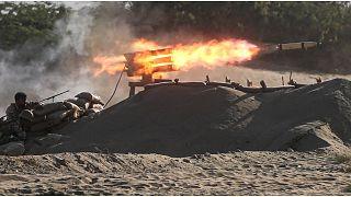 إيران تنشر صواريخ كروز في ثاني أيام مناورة بحرية قرب مضيق هرمز