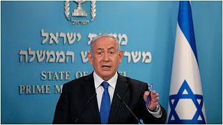 رئيس الوزراء الإسرائيلي بنيامين نيتنياهو