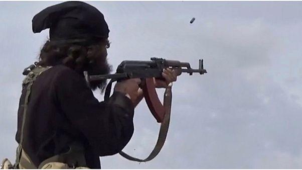 مقاتل من تنظيم الدولة الإسلامية