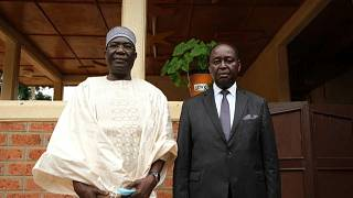 Meeting between Central African Republic Ex-President Arch Enemies