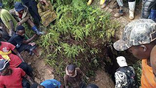 """RDC : Une cinquantaine de """"creuseurs"""" morts dans une mine écroulée"""