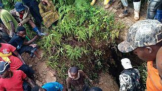 Kongo'nun doğusunda üç maden ocağı aşırı yağışlar sonrası çöktü