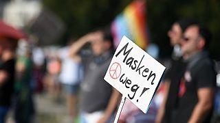 Protest in München