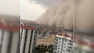 Ankara toz bulutu