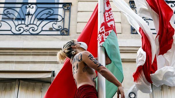 FEMEN protesto