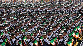 نیروهای سپاه پاسداران ایران