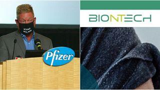 Pfizer ve Biontech firmaları Covid-19 aşısı çalışmalarında 3'üncü ve son aşamada.
