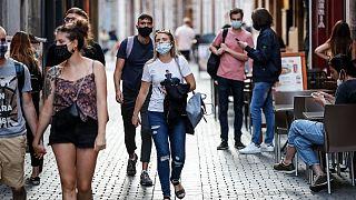 افزایش موارد ابتلا به ویروس کرونا در فرانسه