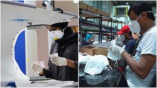 Aux Émirats et en Tunisie, l'industrie manufacturière tente de s'adapter à la pandémie