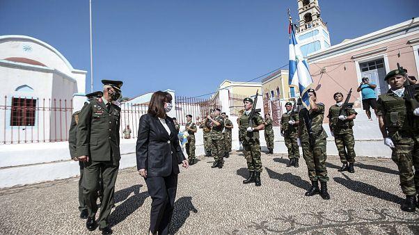 Yunanistan Cumhurbaşkanı Katerina Sakellaropulu