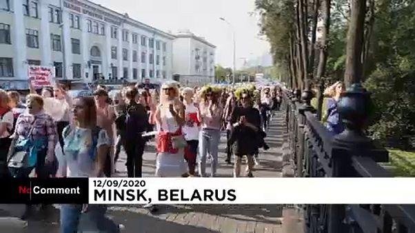Sunday demo in Minsk