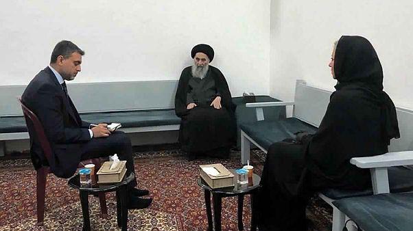 Irak'ın Şii lideri Büyük Ayetullah Ali Sistani