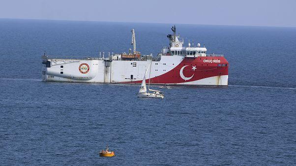 سفينة التنقيب التركية عروج ريس