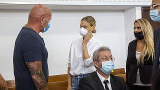 Η Μπαρ Ραφαέλι στο δικαστήριο