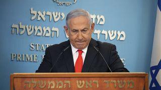 Başbakan Binyamin Netanyahu 18 Eylül'de başlayacak karantina kararını açıklıyor
