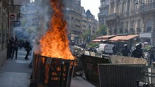 مظاهرات السترات الصفراء في باريس