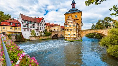 Bamberg has one of Europe's largest and best-preserved old town centres