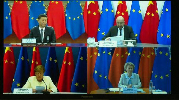 Лидеры ЕС провели сеанс видеосвязи с Председателем КНР